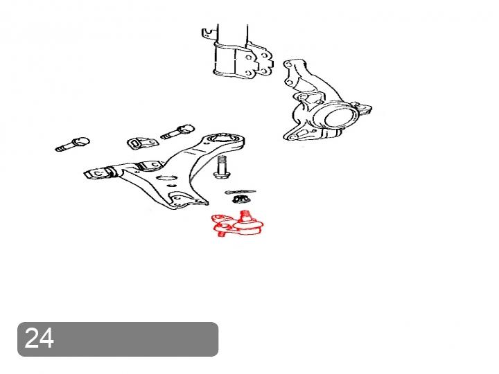 Замена шаровой опоры Toyota Camry V30 (фото 1)