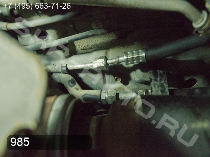 Ремонт заднего контура кондиционера (задние трубки) Toyota Land Cruiser Prado 150 (фото 2)