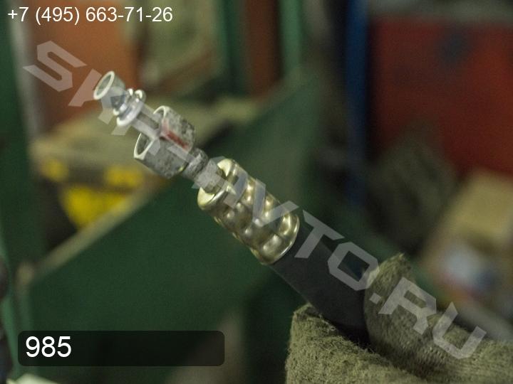 Ремонт заднего контура кондиционера (задние трубки) Toyota Land Cruiser Prado 150 (фото 3)
