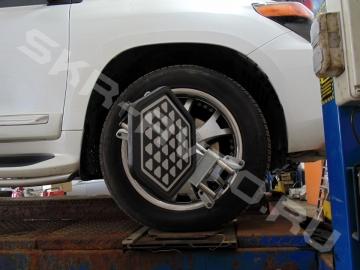 Toyota Land Cruiser 200 — Развал / схождение колёс